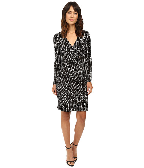 Calvin Klein Long Sleeve Side Ruched Dress CD6A3603