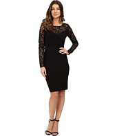 Calvin Klein - Lace Sleeve Pin Tuck Dress CD6A1A46
