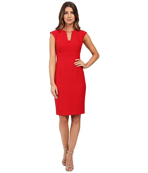 Calvin Klein Cap Sleeve Sheath Dress CD6X1951