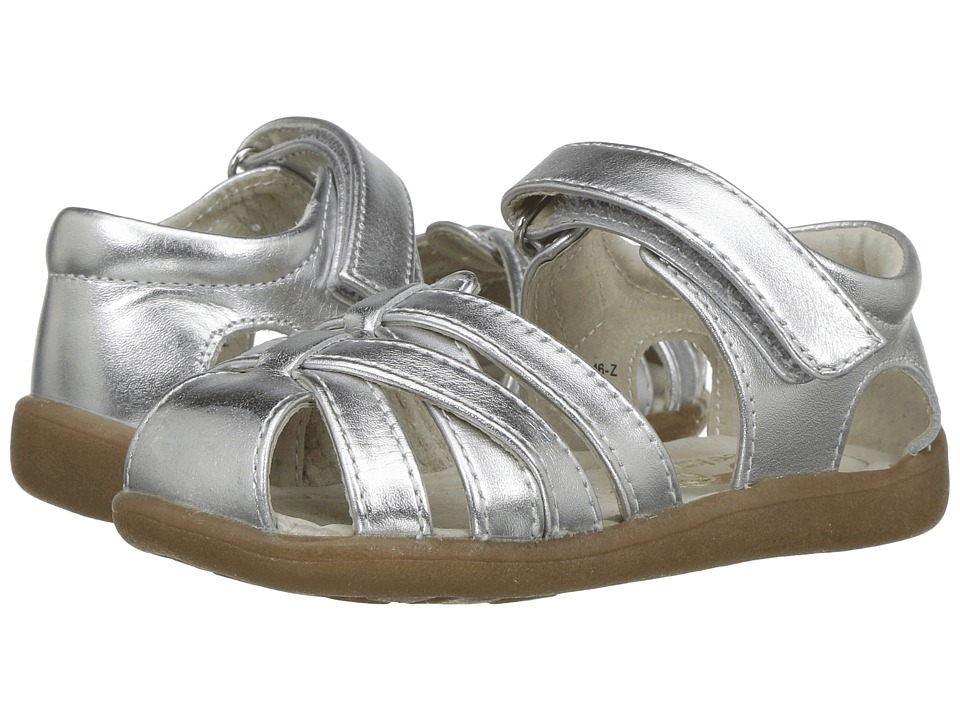 See Kai Run Kids Camila (Toddler) (Silver) Girl