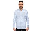 Image of Robert Graham - Sal Dress Shirt (Blue) Men's Long Sleeve Button Up