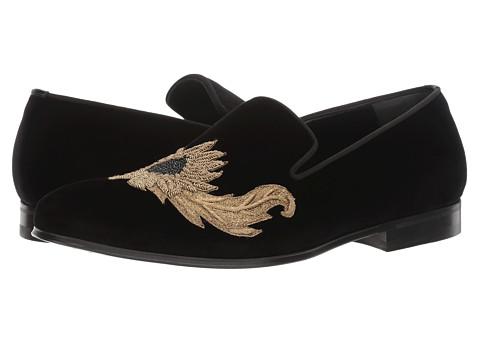 Alexander McQueen Embroidered Evening Slipper