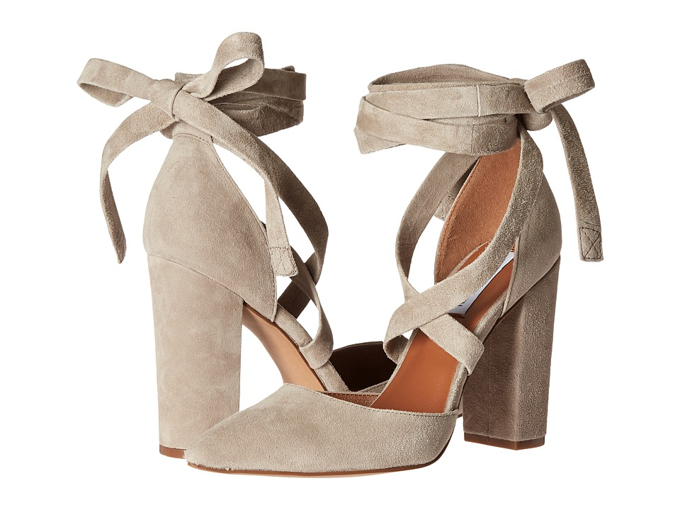 Steve Madden - Bryony (Taupe Suede) High Heels