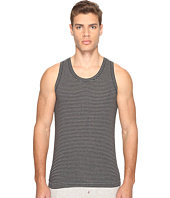Dolce & Gabbana - Grey Stripes Stretch Cotton Tank Top