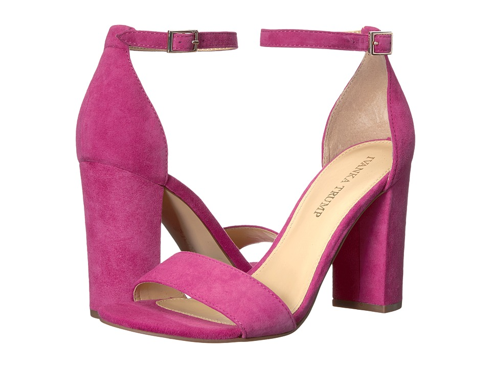 Ivanka Trump Klover (Medium Pink Suede) High Heels