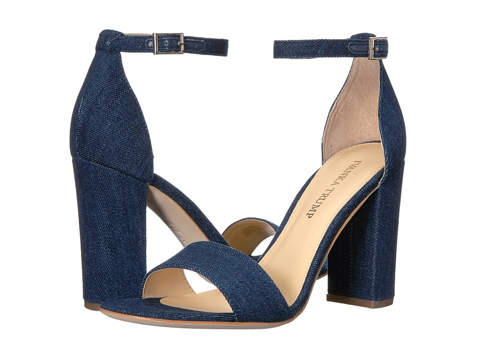Ivanka Trump Klover4 (Dark Blue Fabric) High Heels
