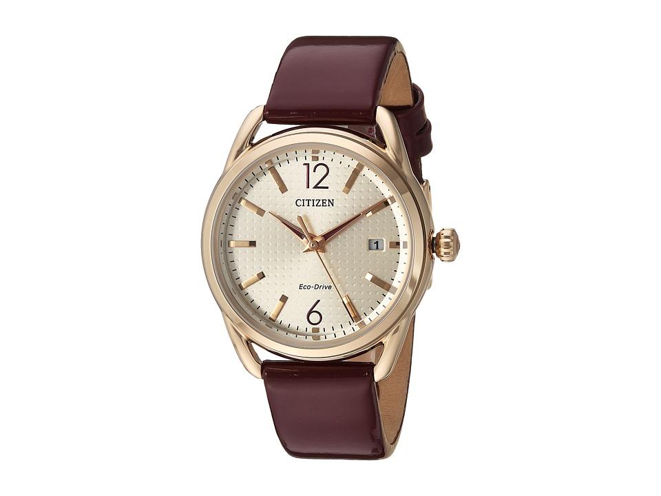 Citizen Watches - FE6083-05P Drive (Burgundy) Watches