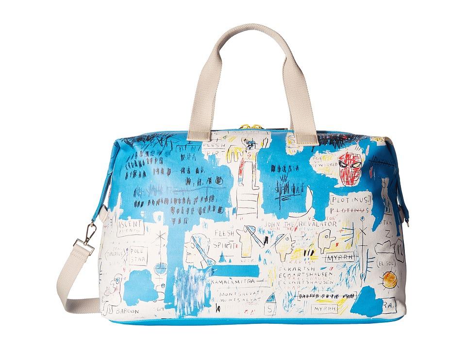 Image of Alice + Olivia - Basquiat Ascent Canvas Weekender (Multi) Luggage