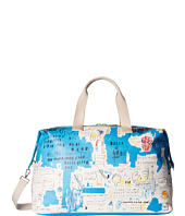 Alice + Olivia - Basquiat Ascent Canvas Weekender
