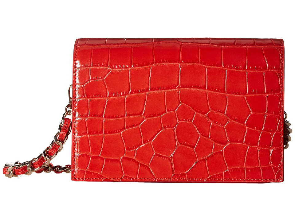 Alice + Olivia - Croc Embossed Clee Crossbody