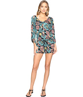 Splendid - Farmhouse Floral Romper Cover-Up