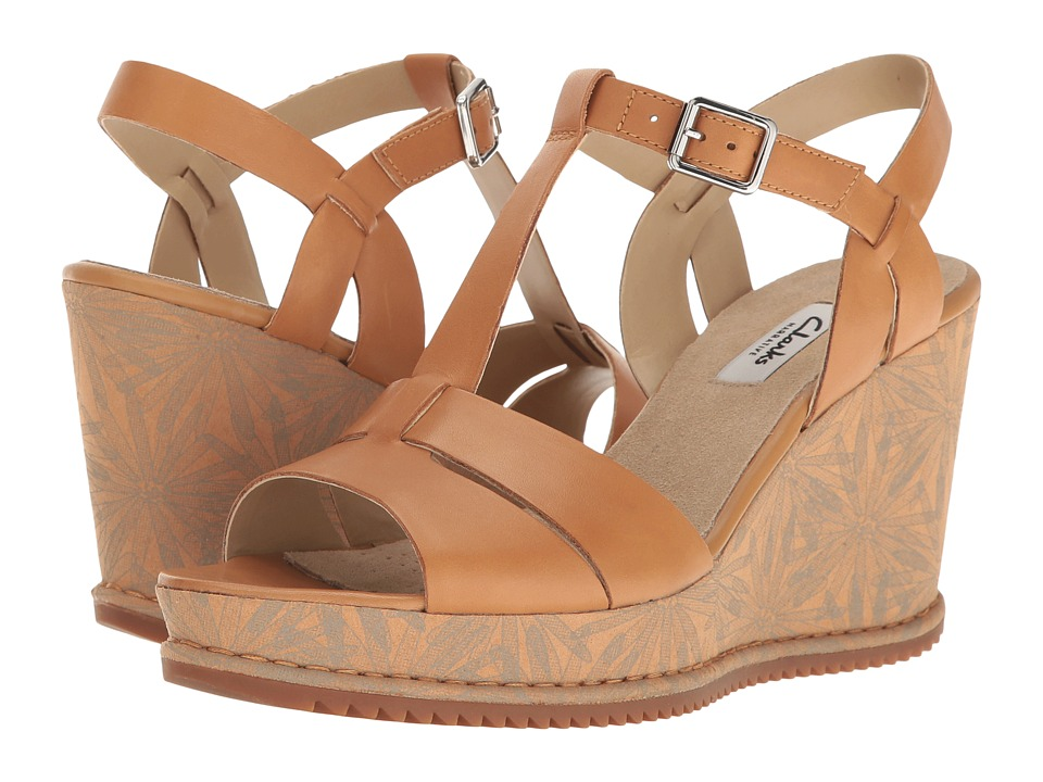 Clarks Adesha River (Tan Leather) Women