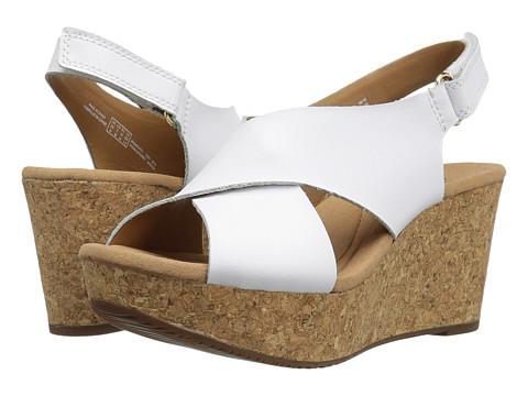 Clarks Annadel Eirwyn - White Leather