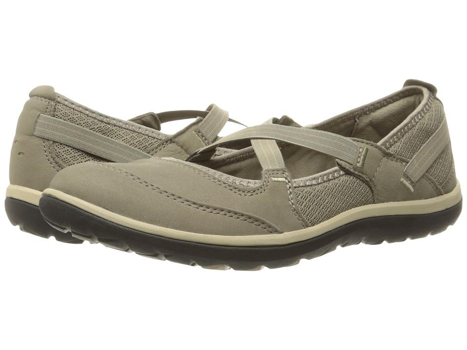 Clarks - Aria Maryjane (Sage Nubuck) Womens Maryjane Shoes