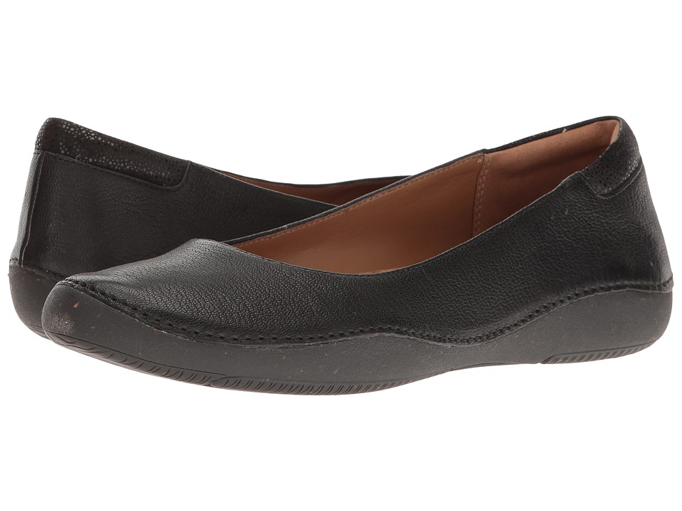 Clarks Autumn Sun (Black Nubuck) Women