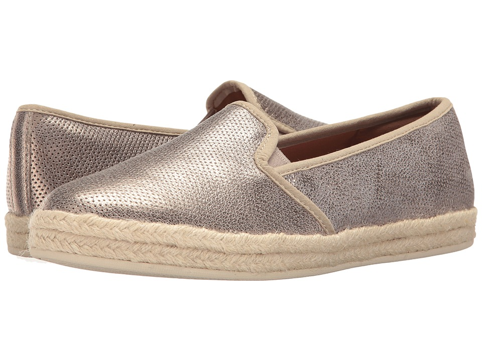 Clarks Azella Theoni (Gold Metallic Leather) Women