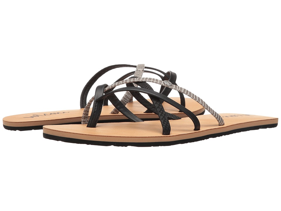 Volcom New School 2 (Black Combo) Sandals