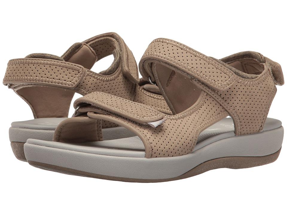 Clarks - Brizo Sammie (Sand Perf Microfiber) Women's Sandals