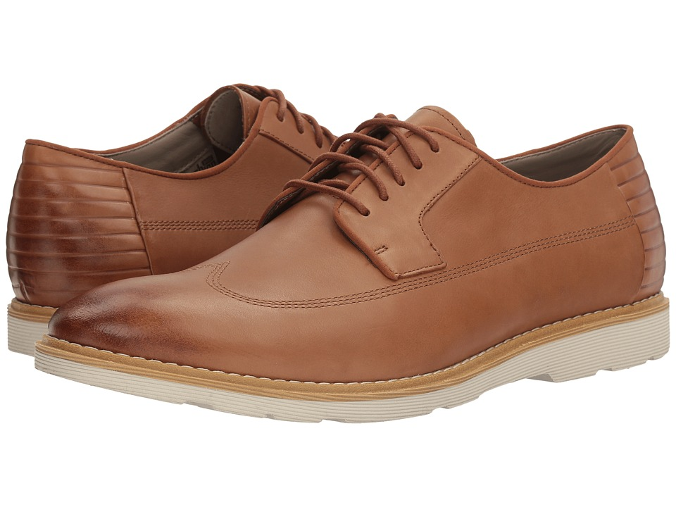 Clarks Gambeson Style (Tan Leather) Men