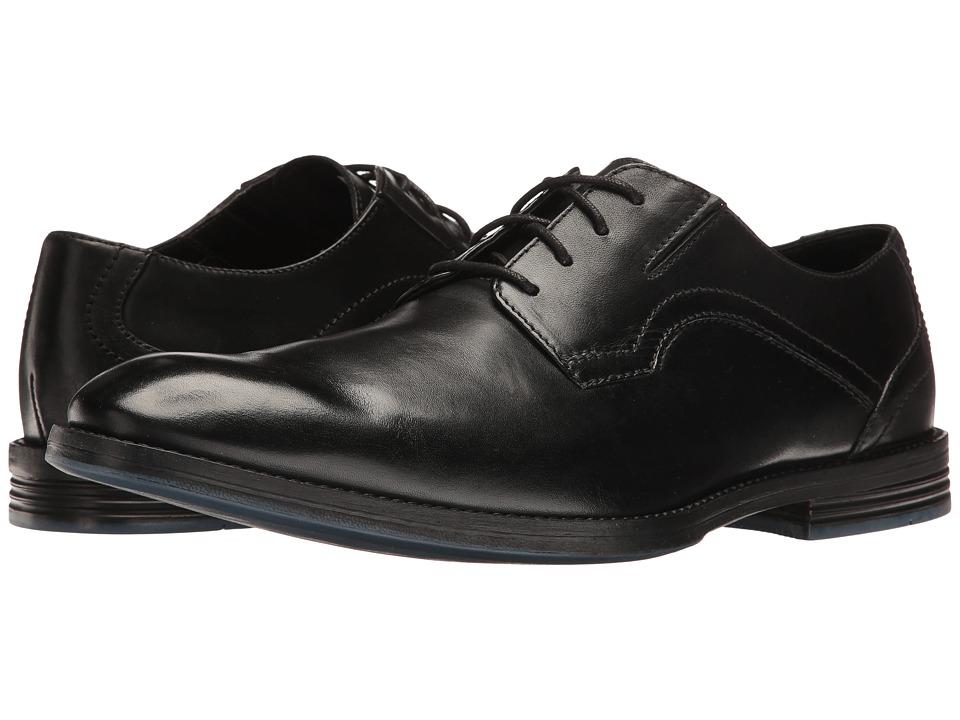 Clarks Prangley Walk (Black Leather) Men