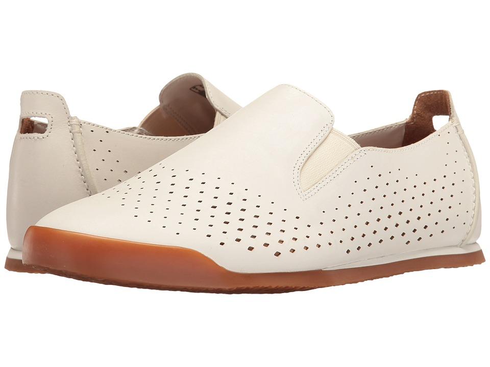 Clarks Siddal Step (White Leather) Men