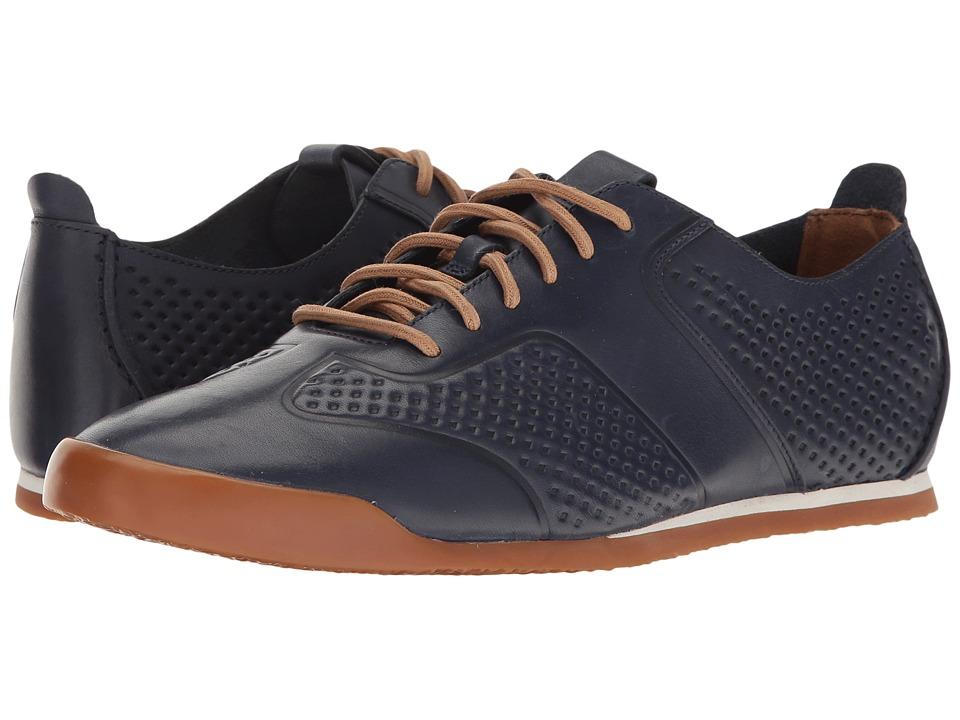 Clarks Siddal Sport (Dark Blue Leather) Men