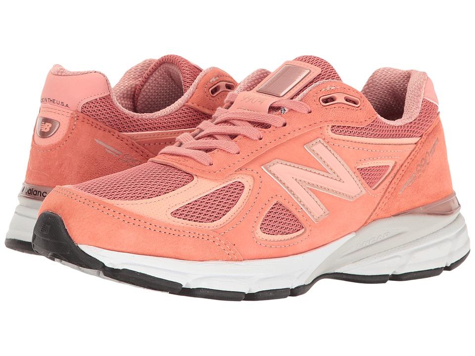 New Balance W990v4 (Sunrise/Rose Gold) Women's Running Shoes