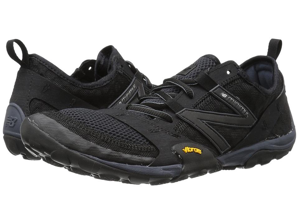 New Balance Minimus 10v1 (Black/Silver) Men's Running Shoes