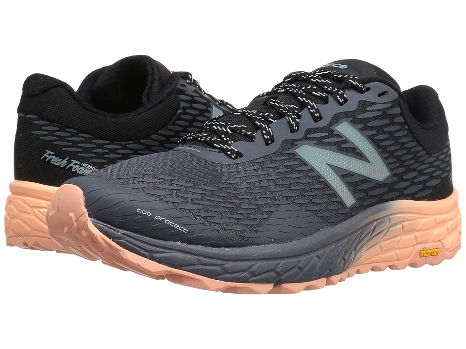 New Balance Fresh Foam Hierro V2 (Outerspace/Black/Bleached Sunrise) Women
