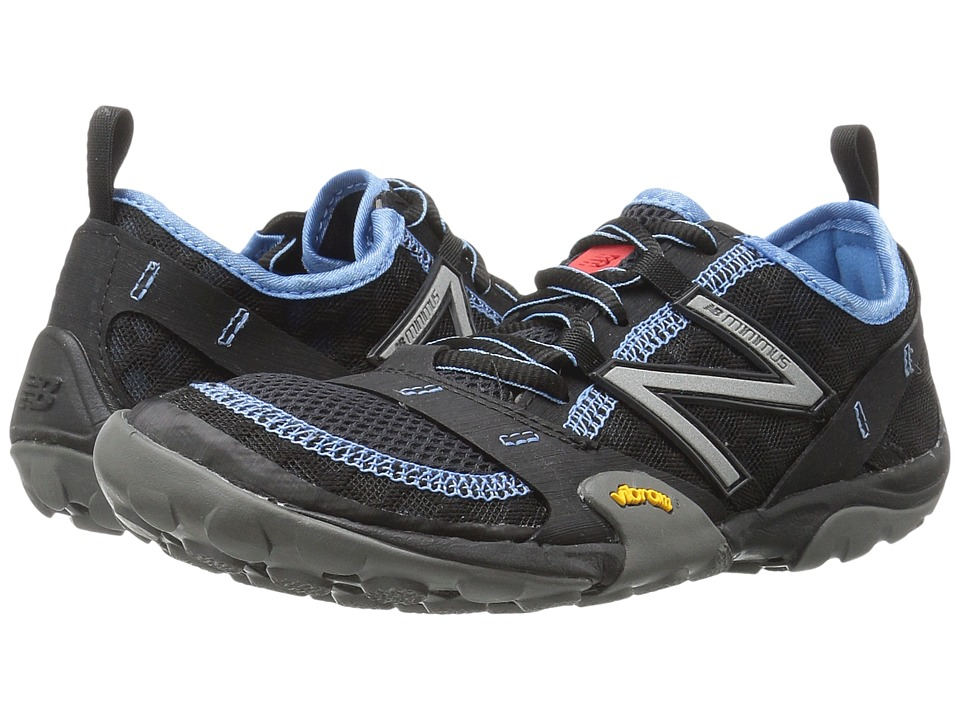 New Balance Minimus 10v1 (Black/Blue) Women's Running Shoes