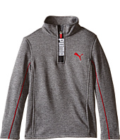 Puma Kids - PUMA® Zip Long Sleeve Top (Little Kids)