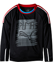 Puma Kids - Fast Lane Long Sleeve Top (Little Kids)