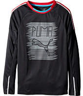 Puma Kids - Fast Lane Long Sleeve Top (Big Kids)