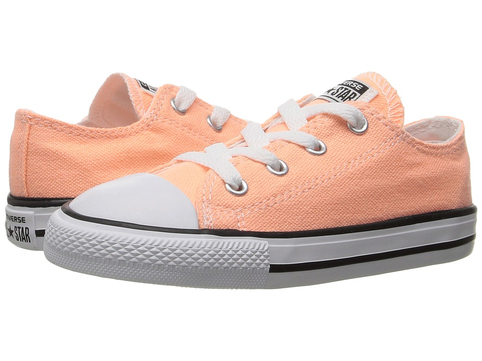 Converse Kids Chuck Taylor All Star Ox (Infant/Toddler) (Sunset Glow) Girl