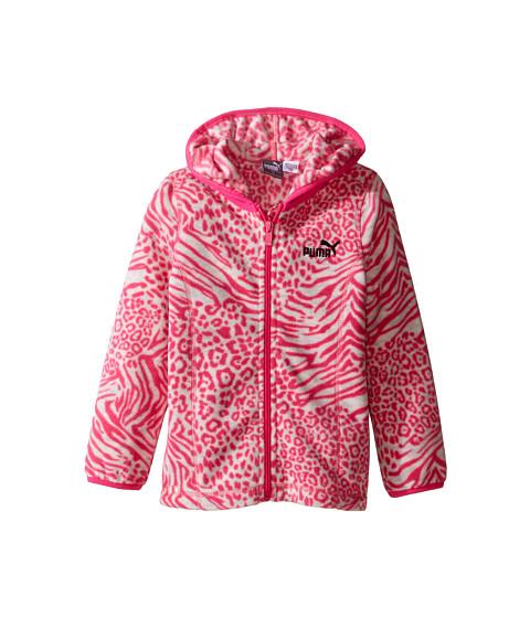 Puma Kids Printed Polar Fleece Zip Front Hoodie (Toddler)