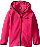 Puma Kids - Solid Polar Fleece Zip Front Hoodie (Toddler)