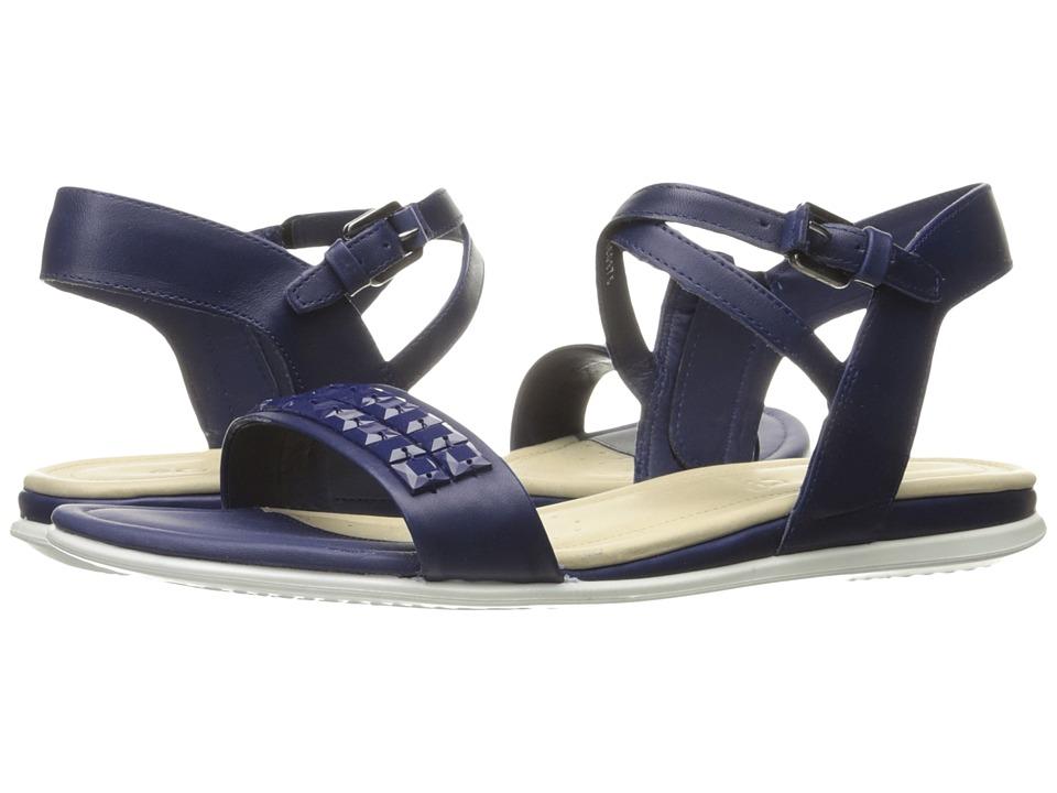 ECCO Touch Embellished Sandal (Mediveval Calf Leather) Women