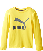 Puma Kids - No.1 Long Sleeve Logo Tee (Little Kids)