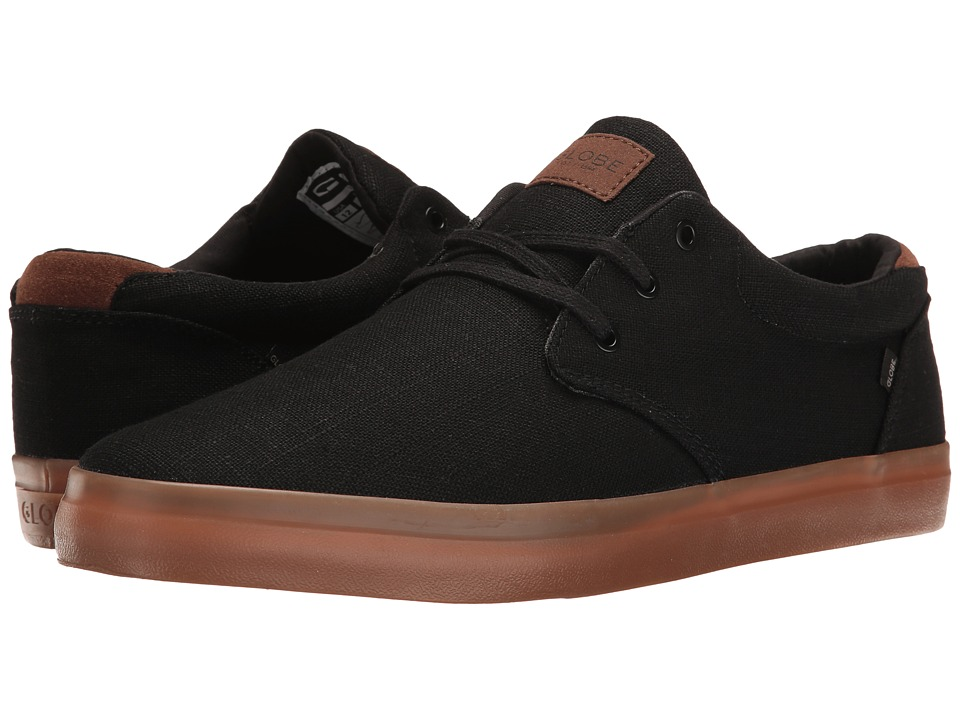 Globe - Willow (Black Hemp/Gum) Mens Skate Shoes