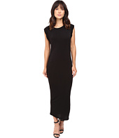 HEATHER - Roll Sleeve Midi Dress