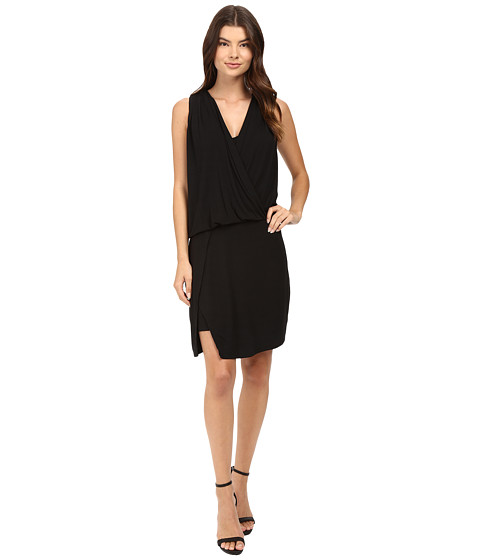 HEATHER Wrap Front Dress