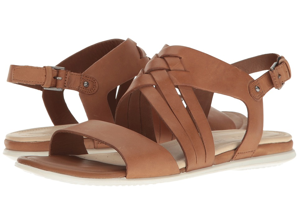 ECCO Touch Braided Sandal (Whisky Cow Nubuck) Women