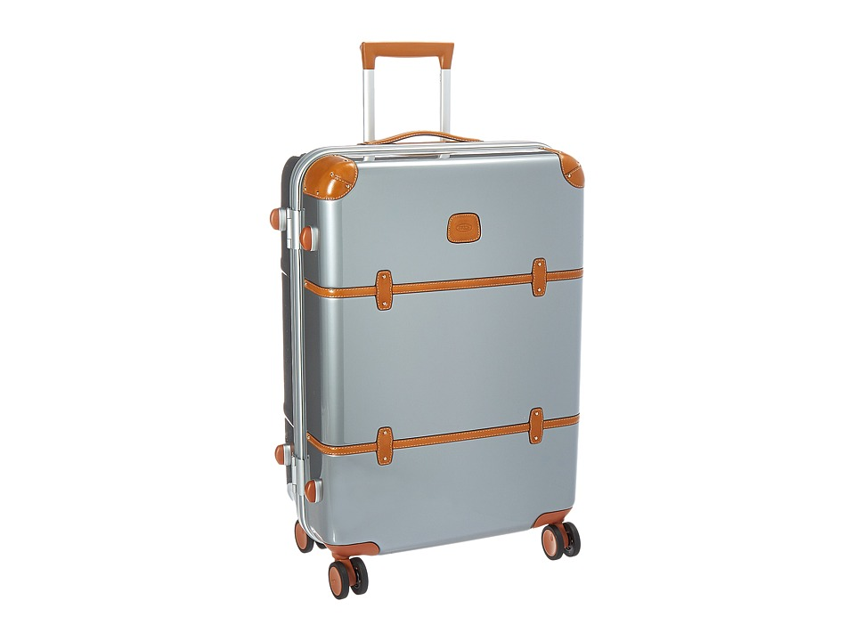 Bric's Milano - Bellagio Metallo 2.0 - 27 Spinner Trunk (Silver) Luggage