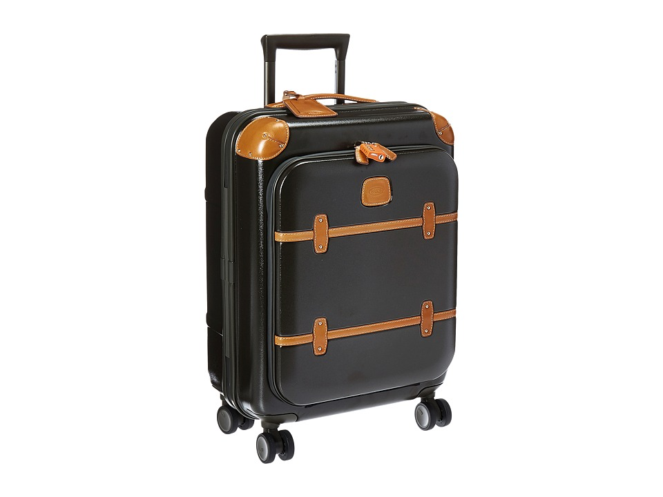 Bric's Milano - Bellagio 2.0 - 21 Spinner Trunk with Pocket (Olive) Luggage