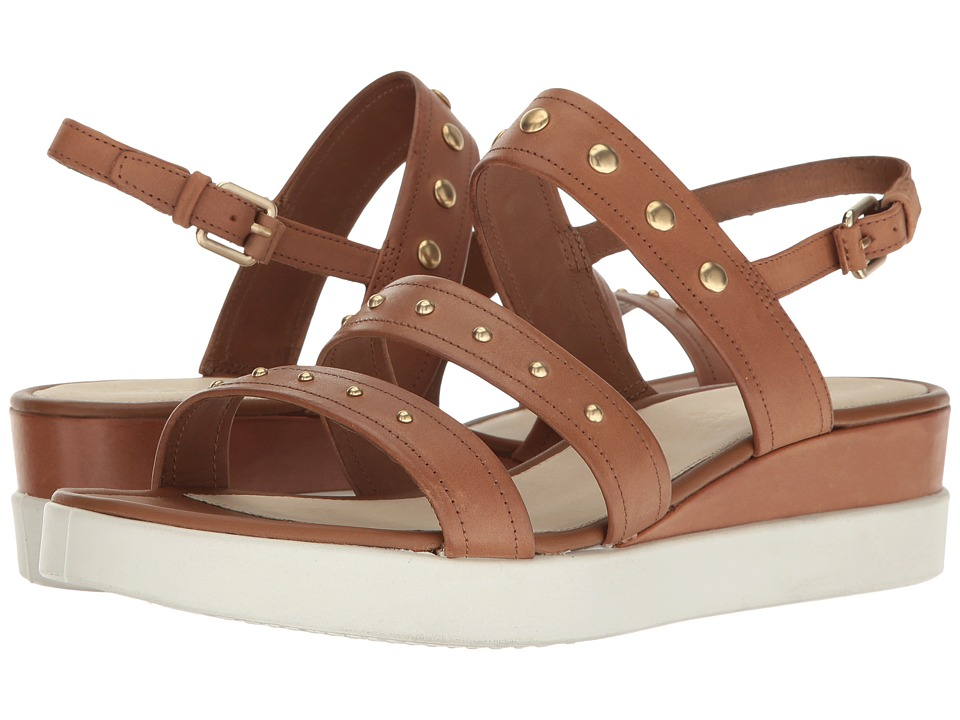 ECCO Touch Strap Plateau (Whisky Cow Nubuck) Women