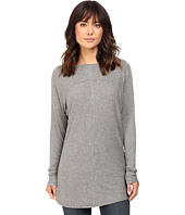 HEATHER - Long Sleeve Drape Front Panel Back Top