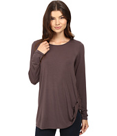 HEATHER - Twist Front Long Sleeve Top