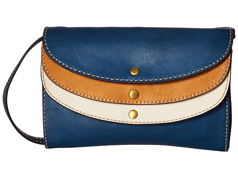 Frye Adeline Wallet Crossbody - Blue Multi