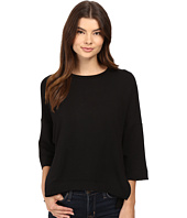 HEATHER - French Terry Wedge Pullover