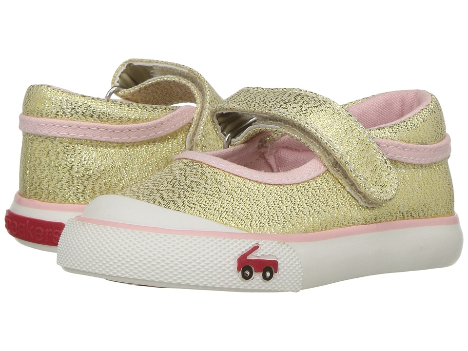 See Kai Run Kids Marie (Toddler) (Gold Glitter) Girls Shoes